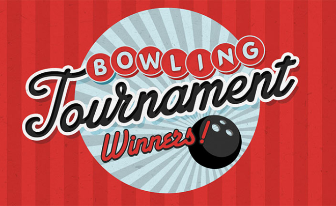 Bowling Tournament: July's results