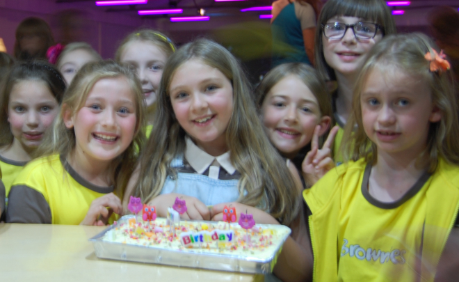 Brownies 100th Birthday