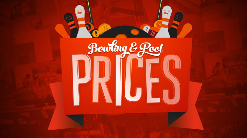 Bowling and Pool Prices